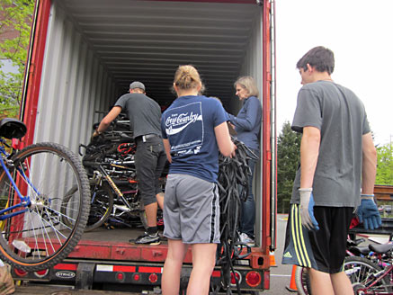 Bikes For Africa Sammamish ARAS Bikes Project