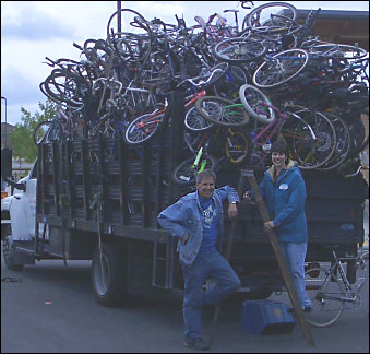 Bikes For Africa Sammamish YOUR USED BICYCLE CAN MAKE